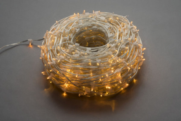 LED клип-лайт Flash, длина 100М без трансформатора, желтый 1