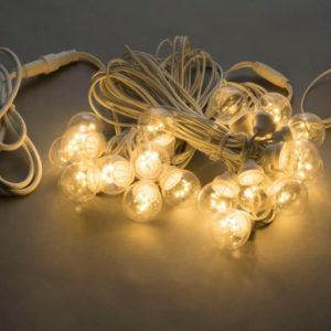 LED-2BLR-2835- 50CM-10M-240V-WW/WH, Белт-лайт с лампами теплый белый/белый пр.