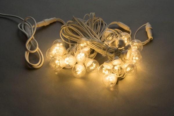 LED-2BLR-2835- 50CM-10M-240V-WW/WH, Белт-лайт с лампами теплый белый/белый пр. 1