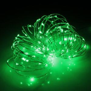 LED Роса 20м, зелёная