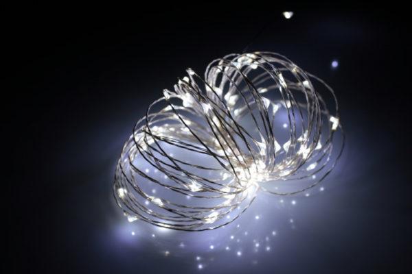 LED Роса 10м, белая 1