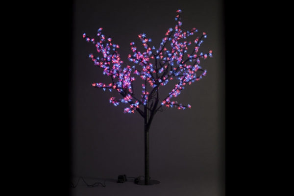 Сакура светодиодная 972LED, H1,9м D1,5м, RGB