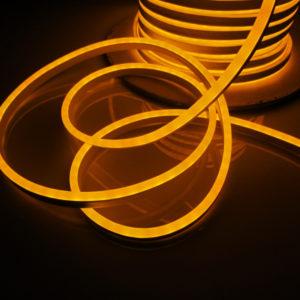 Леднеон флекс, 8×16мм, бухта 50м, кратность резки 1,52м, жёлтый