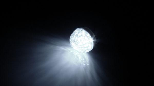 LED лампа с цоколем E27, 50 мм, (9 светодиодов), белый 1