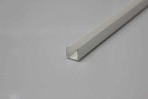 Пластиковый профиль 2м для неона 12х25мм