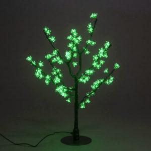 Куст сакуры 96LED, 0,8х0,8м, зеленый