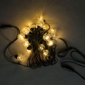 LED-2BLR-2835-50CM-10M-240V-WW/BL, Белт-лайт с лампами теплый белый/черный пр.