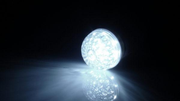 LED лампа с цоколем E27, 50 мм, (9 светодиодов), белый 2