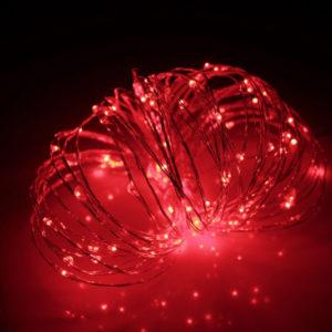 LED Роса 10м, красная