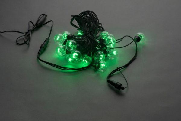 LED-2BLR-50CM-10M-240V-G, Белт-лайт с лампами, зелёный/черный пр. 1