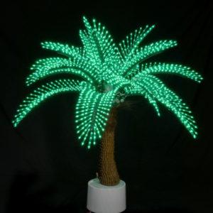 Пальма Японская 1,2м, 2328 светодиодов, зеленая