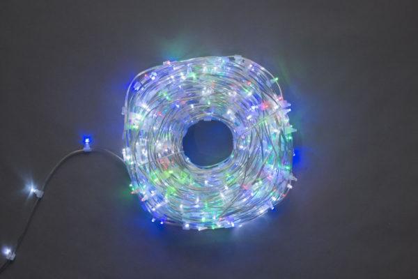 LED клип-лайт Flash, длина 100М без трансформатора, мульти 1