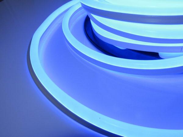Леднеон флекс, 15х26мм, бухта 50м, кратность резки 1м, синий