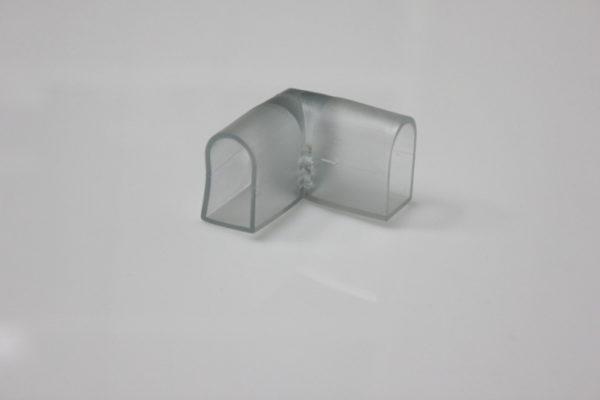 L-образный коннектор для неона 12х25мм