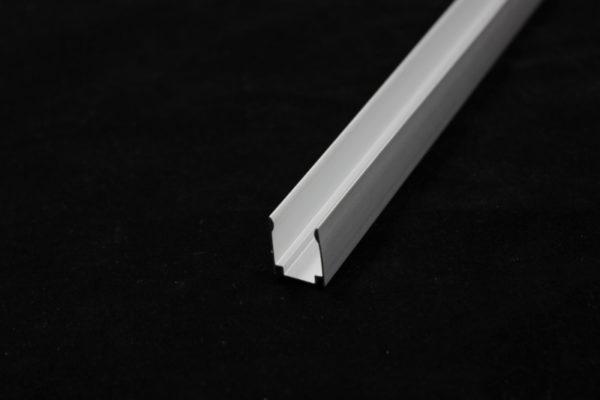 Алюминиевый профиль для лед-неон флекса 12х25мм, 2м 1