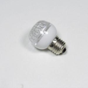 LED лампа с цоколем E27, 50 мм, (9 светодиодов), белый