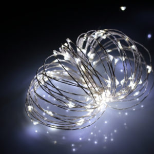 LED Роса 20м, белая