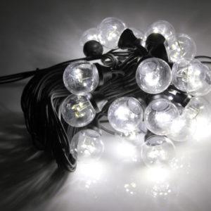 LED-2BLR-2835-50CM-10M-240V-W/BL, Белт-лайт с лампами белый/черный пр.