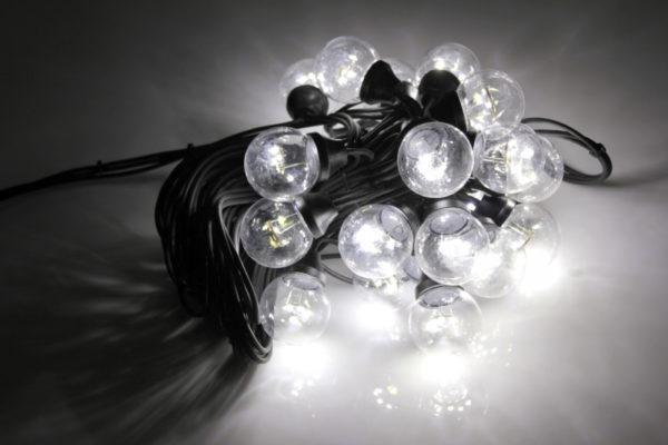 LED-2BLR-2835-50CM-10M-240V-W/BL, Белт-лайт с лампами белый/черный пр. 1