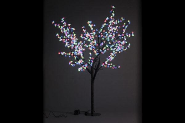 Сакура светодиодная 972LED, H1,9м D1,5м, RGB 1