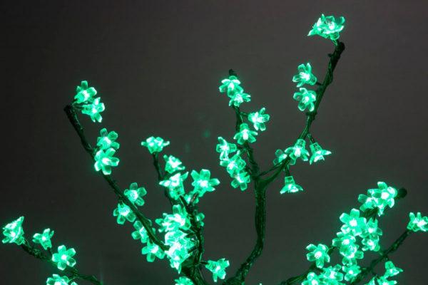 Куст сакуры 96LED, 0,8х0,8м, зеленый 2
