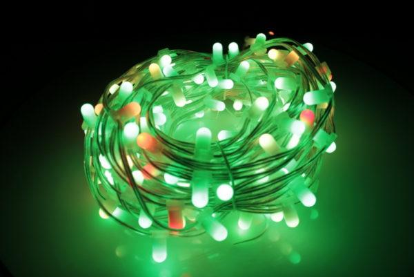LED клип-лайт, длина 100М без трансформатора, RGB 4