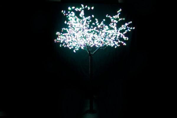 Сакура светодиодная 1728LED, H2,5м D2,0м, RGB 1