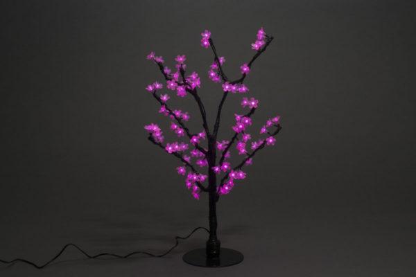 Куст сакуры 96LED, 0,8х0,8м, розовый