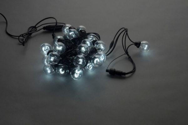 LED-2BLR-40CM-10M-240V-W, Белт-лайт с лампами, белый/черный пр. 1