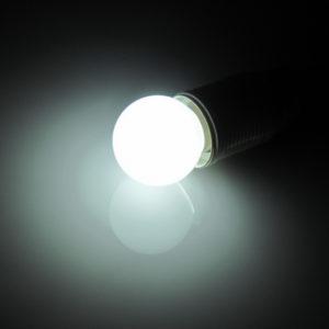 LED лампа – шарик с цоколем E27, 45 мм, (5 светодиодов), матовые, белый