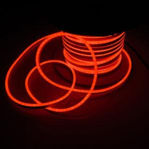 Леднеон флекс, 8×16мм, бухта 50м, кратность резки 1,52м, красный