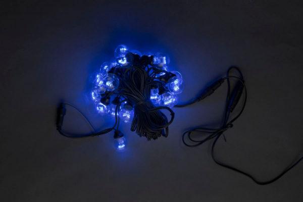 LED-2BLR-50CM-10M-240V-B, Белт-лайт с лампами, синий/черный пр. 1