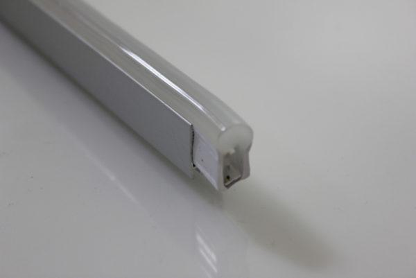 Алюминиевый профиль 1м для неона 8х16мм 1