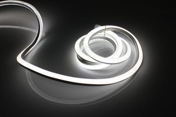 Леднеон флекс, 20х20мм, 50м, кратность резки 0,5м, белый