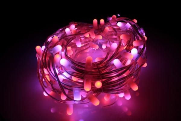 LED клип-лайт, длина 100М без трансформатора, RGB 1