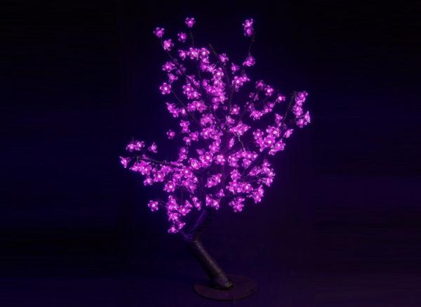 Куст сакуры 224LED, 0,8х0,8м, розовый 1