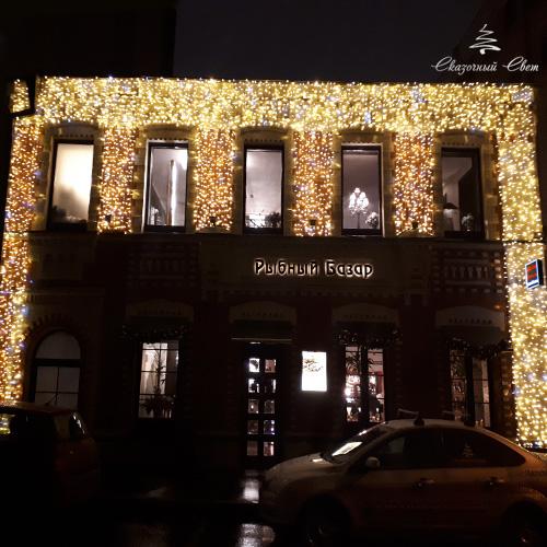 Москва, ресторан Рыбный Базар 1