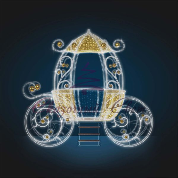 Волшебная карета 3D GR 32-1 - Ш 3,60 м х В 3,30 м х Г 2,00 м 1