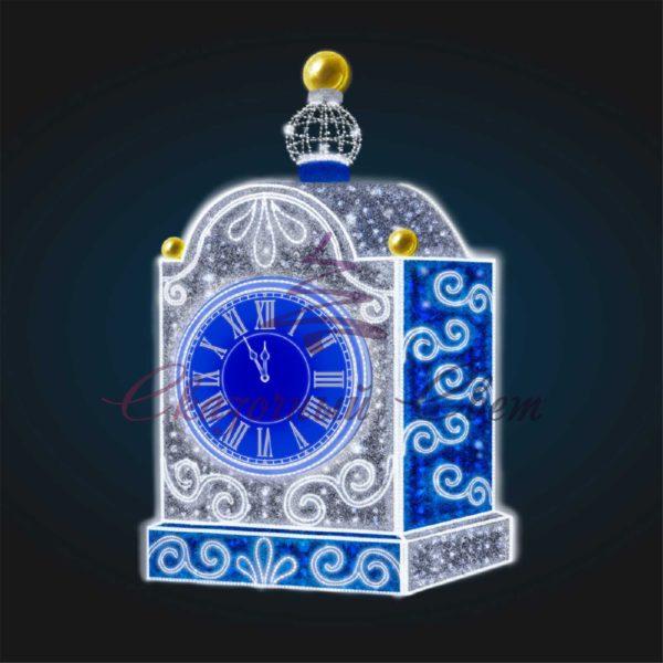 Часы сказочные В 2,5 м х Ш 1,5 м х Г 1,0 м - 3D GR 82 1