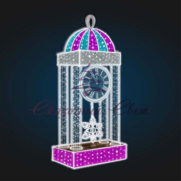 Часы с маятником 3D GR 83 - Ш 1,50 м х В 2,50 м х Г 0,80 м 1