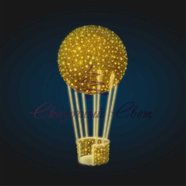 Воздушный шар В 4,5 м х Ш 2,3 м х Г 2,3 м - 3D GR 87 1