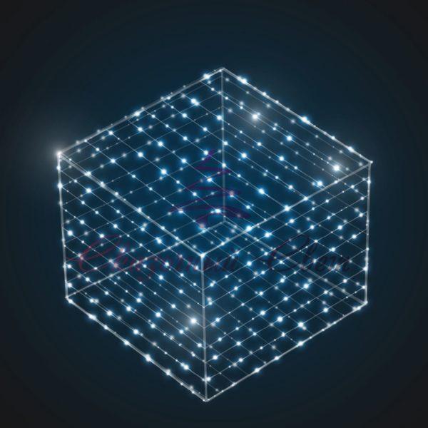 Световой куб В 1,0 м х Ш 1,0 м х Г 1,0 м - 3D SE 53 1