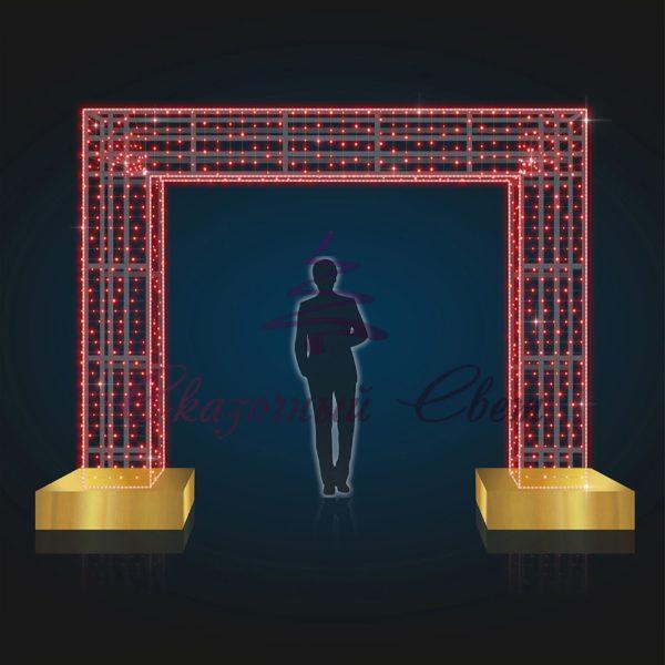 Ворота световые В 3,0 м х Ш 4,0 м х Г 0,5 м - AR 31 1