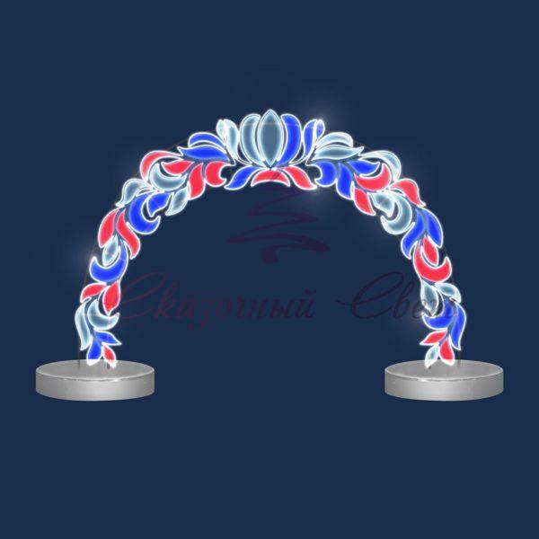 Светодиодная арка AR 32 - Ш 4,50 м х В 3,00 м х Г 1,40 м 1