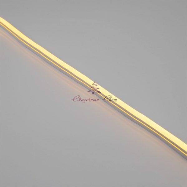 Гибкий неон LED 220V 8х16мм, кратность резки 1м, теплый белый 2