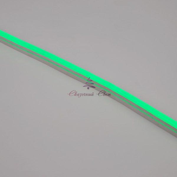 Гибкий неон LED 12V 8х16мм, кратность резки 2.5cм, зеленый 2