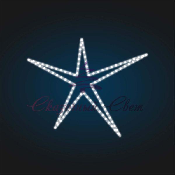 Мотив Звезда В 0,55 м х Ш 0,7 м - FL 22 1