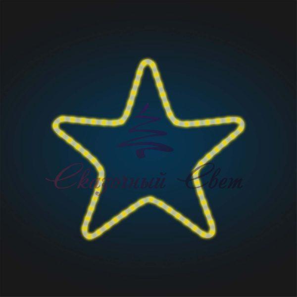 Световой мотив Звезда В 1,2 м х Ш 1,25 м - FL 23-4 1