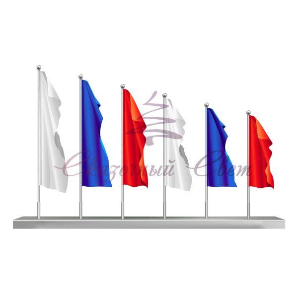 Флаговая конструкция ФПК 002 - В 5,0 м х Ш 10,0 м х Г 1,0 м 1