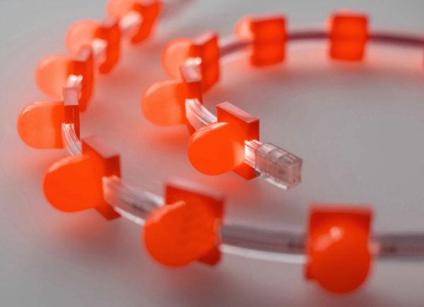 Съемный колпачок для клипсолайта Rich LED, красный 1
